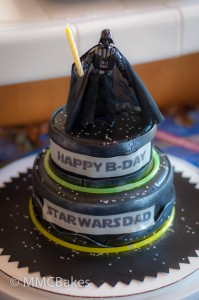 darth vader star wars fondant cake mmcbakes