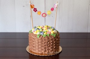 mmcbakes, basketweave cake, russian piping tips nozzles flower buttercream basket cake san diego chula vista custom cake
