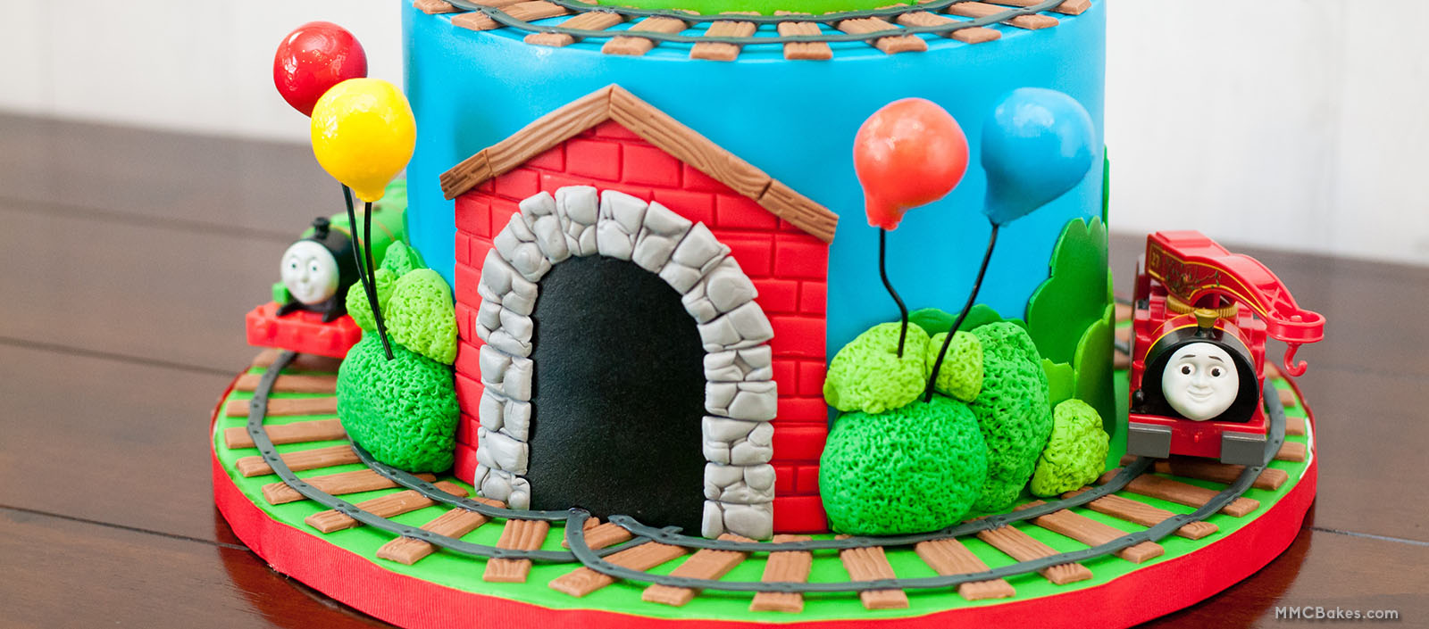 Mmc Bakes Custom Cakes Thomas The Train Thomas And Friends Cake San