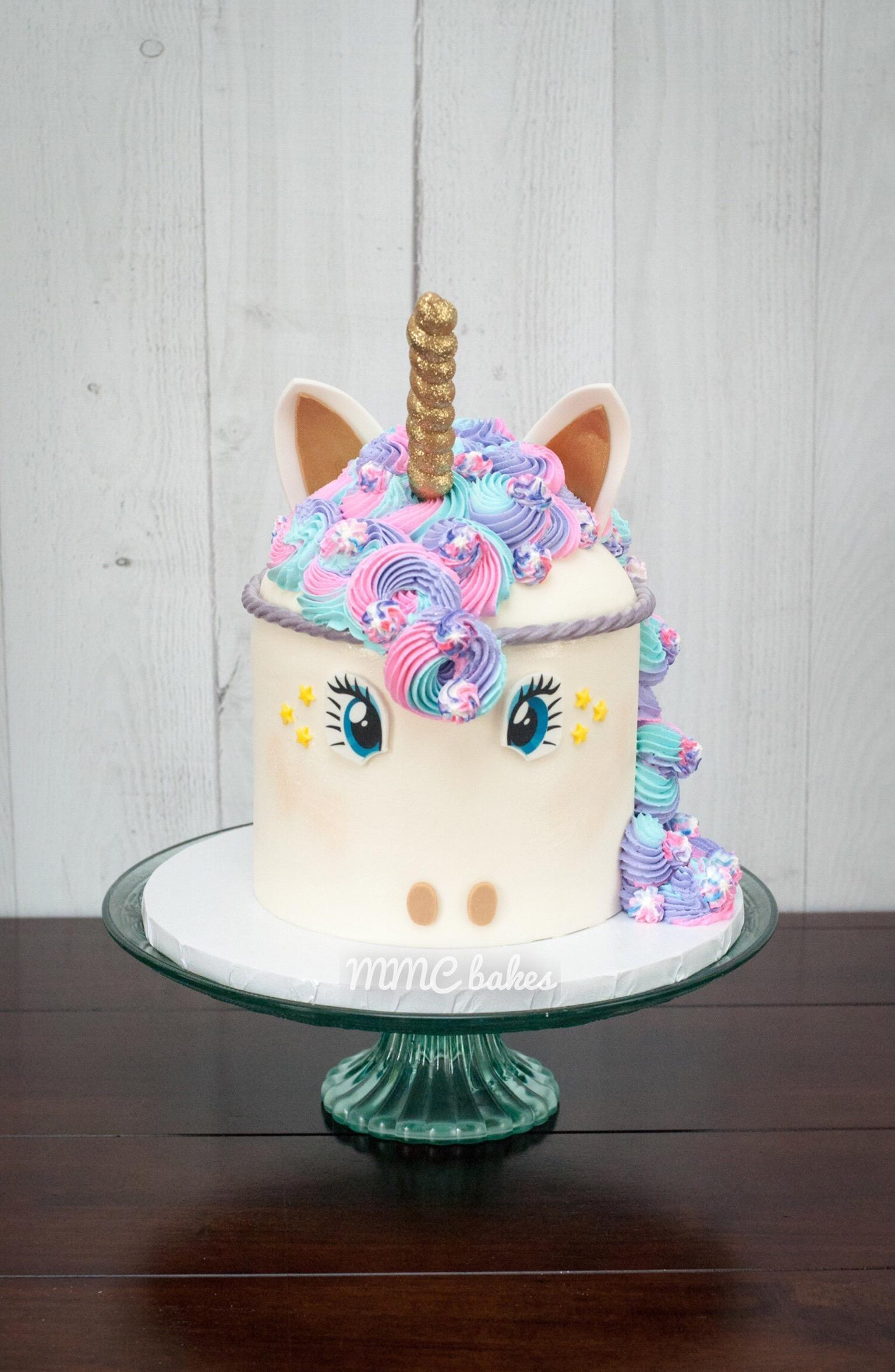 Unicorn Cake Mmc Bakes